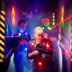 Ideal für Lasertag-Arena geeignet